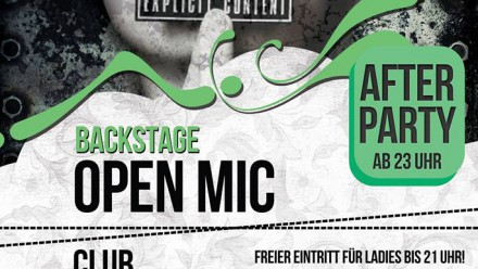 Open Mic Jeden Freitag
